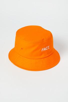 Fact. Box Logo Bucket Hat