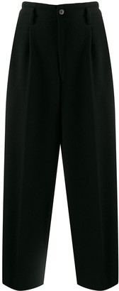 Comme des Garcons Pre-Owned 1980s straight cropped trousers