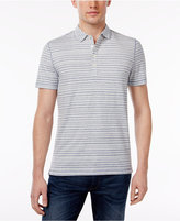 Michael Kors Men's Space-Dyed Striped Cotton Polo, Only at Macy's