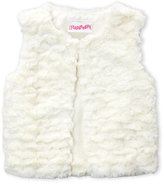 Flapdoodles Toddler Girls) Faux Fur Vest