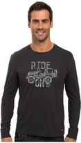 Life is Good Enjoy The Ride Long Sleeve Crusher Tee