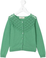 Nice Things scoop neck cardigan - kids - Cotton - 6 yrs