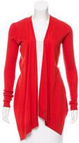 Diane von Furstenberg Silk Open Front Cardigan