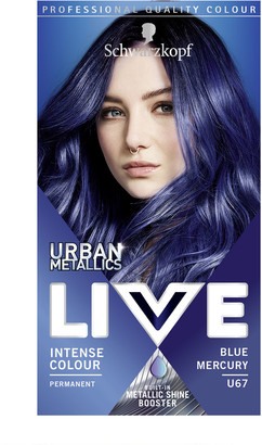 Schwarzkopf Live Colour Urban Metallics U67 Blue Mercury