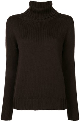 P.A.R.O.S.H. High-Neck Knitted Jumper