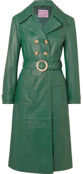 fabb796a6be Green Trench Coat For Women - ShopStyle