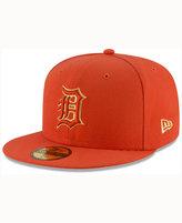 New Era Detroit Tigers Team On Metallic 59FIFTY Cap