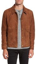 Billy Reid Men's Duke Lambskin Leather Shirt Jacket