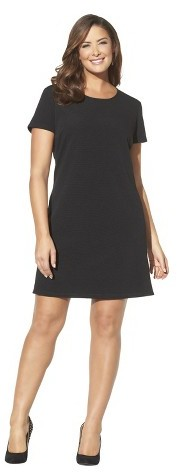 Merona Women's Plus Size Short Cap Sleeve Shift Dress