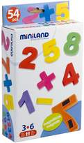 Miniland 54-Piece Magnetic Number