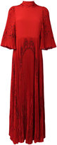 Valentino pleated panel gown - women - Silk - 40