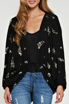 Love Stitch Lovestitch Floral Cardigan