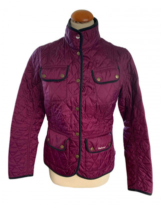 Barbour Burgundy Synthetic Jackets