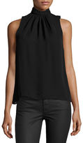 Parker Karmela Embellished High-Neck Top