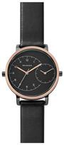 Skagen Women&s Hagen Leather Strap Watch
