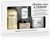 philosophy Cleanse, Refine And Renew Kit