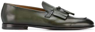 Silvano Sassetti fringed front loafers