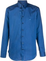 Etro plain long sleeve shirt