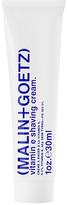 Malin+Goetz Travel Vitamin E Shaving Cream.