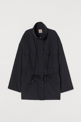 H&M H&M+ Utility Jacket - Black