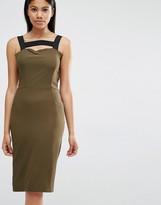Love Contrast Strap Dress