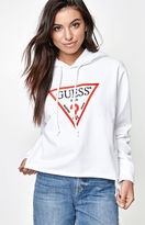GUESS x PacSun Long Sleeve Cropped Hoodie