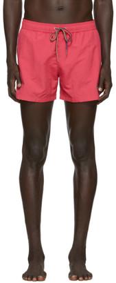 Paul Smith Pink Zebra Swim Shorts