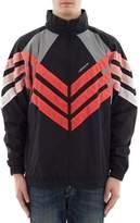 adidas Men's Black Polyamide Outerwear Jacket.