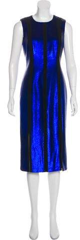 Diane von Furstenberg Sequined Midi Dress