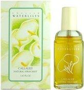 Alyssa Ashley English Waterlilys Callalily by for Women 1.67 oz Natural Spray Mist
