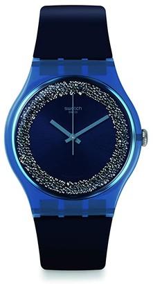 Swatch Blusparkles - SUON134 (Blue) Watches