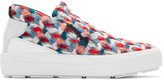 MSGM Multicolor Chunky Tweed Sneakers