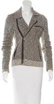 Rag & Bone Tweed Zip-Up Jacket