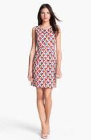 Kate Spade 'abbey' Stretch Cotton Sheath Dress