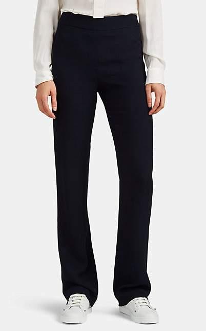 Giorgio Armani Women's Knit Wide-Leg Trousers - Navy