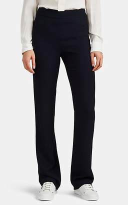 Giorgio Armani Women's Knit Wide-Leg Trousers - Navy