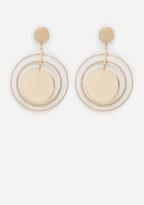 Bebe Ring Drop Earrings