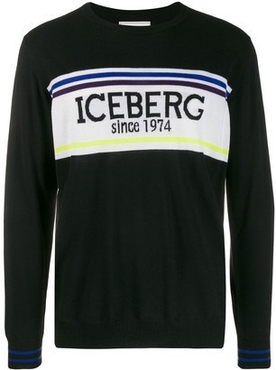 Iceberg logo sweater