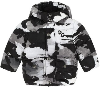 Dolce & Gabbana Kids Camouflage Down Jacket (3-30 Months)