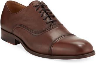 Donald J Pliner Garee Leather Cap-Toe Oxford Dress Shoes