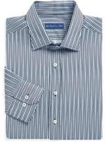Etro Asymmetric Stripe Dress Shirt
