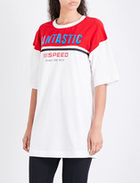 Mo&Co. Fantastic oversized cotton-jersey T-shirt