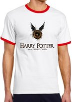 SARHT Men's Harry Potter And The Cursed Child Logo Color Block T-shirt