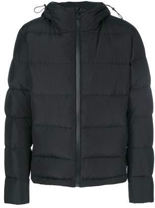 MSGM Men's Black Polyamide Down Jacket.
