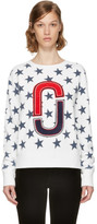 Marc Jacobs Ivory 90s Star Sweatshirt