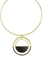 Noir Honey Pendant Necklace
