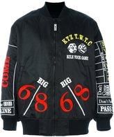 Kokon To Zai 'Rule your game' bomber jacket - men - Nylon - S