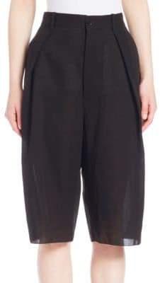 MS MIN Wide-Leg Shorts