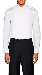Givenchy Men's Cotton Poplin & Piqué Shirt-White