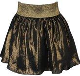 Gold Bias Skirt